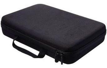 kit de acessórios gopro hero 6/5/4/3 plus sj maleta case g
