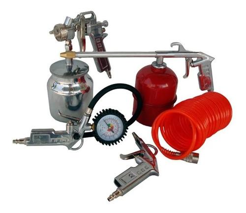 kit de acessórios para compressor 5 peças lynus kitmac-5