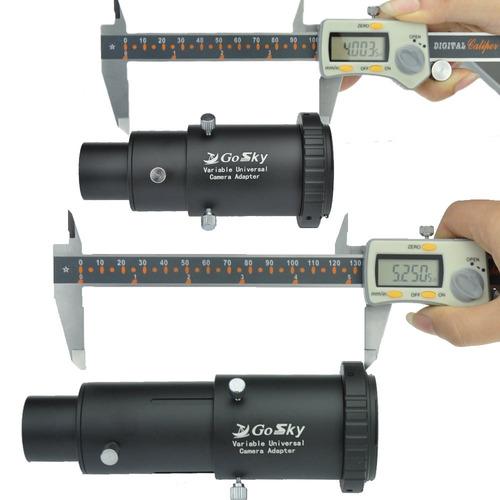 kit de adaptador de cámara de telescopio gosky deluxe para c