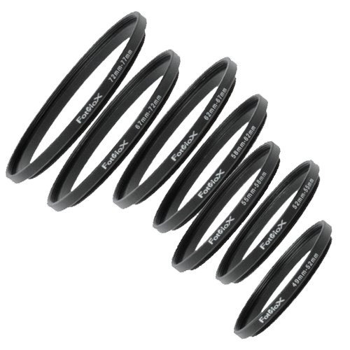 kit de adaptador de filtro de anillo progresivo fotodiox 7,