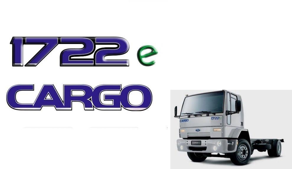 Kit De Adesivo Emblema Ford Cargo 1722e Resinados R 79 90 Em