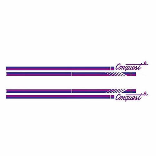 kit de adesivos laterais d20 conquest 1993 cabine simples