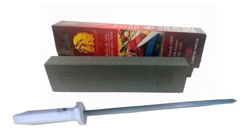 kit de afiar canivete da roca duo320 pedra de amolar chaira
