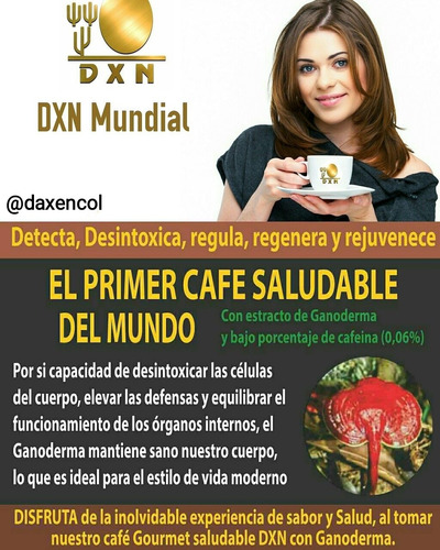 kit de afiliación dxn membresía internacional