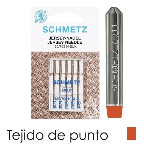 kit de agujas schmetz - jersey para máquinas familiares