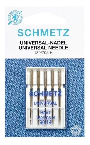 kit de agujas schmetz microtex y universal máq familiar