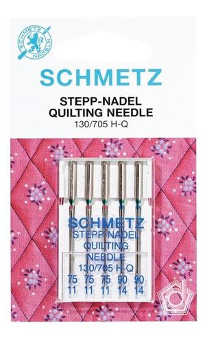 kit de agujas schmetz quilting - máquina de coser familiar