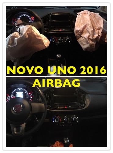 kit de airbag instalado