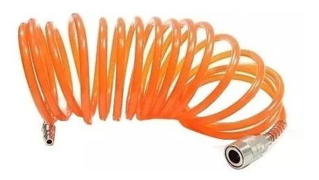 kit de aire p/ compresor 5 accesorios+acople rápido. envio g
