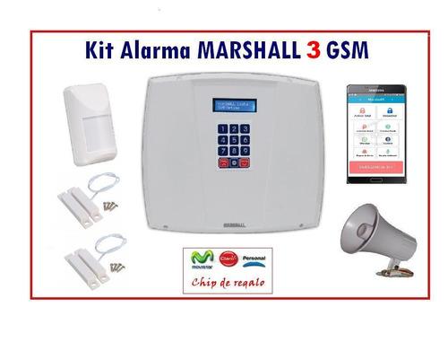 kit de alarma gsm super oferta en bahía blanca