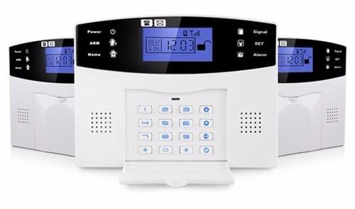 kit de alarma inalambrico inteligente gsm panel casa locales