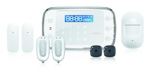 kit de alarma touch gsm/sms smanos x500 - tecsys