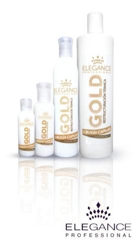 kit de alisado elegance gold no italian max gold keratin