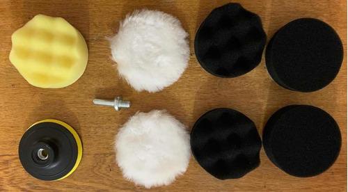 kit de almohadillas para polichar y lavar muebles