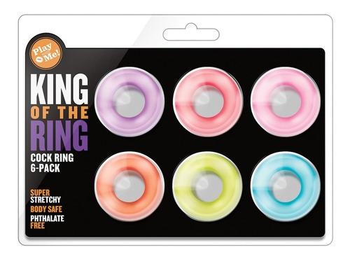kit de anillos retardantes ajustables al tamaño de tu pene