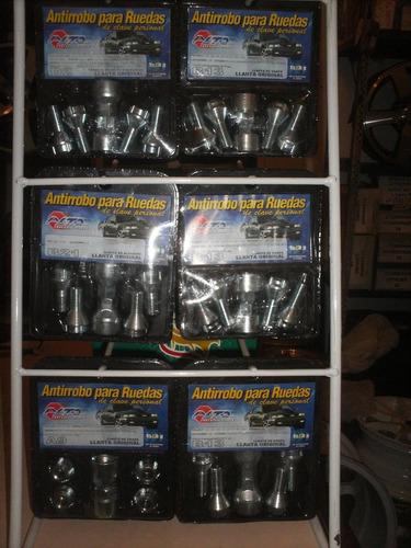 kit de antirrobos codificados para llantas de honda odissey