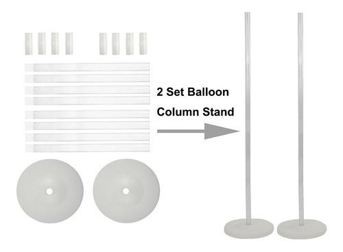 kit de arco de globo de gran tamaño y soporte de column...