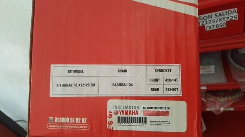 kit de arrastre completo para yamaha xtz 125