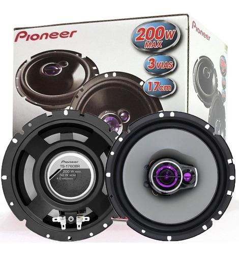kit de auto falantes pioneer fiesta