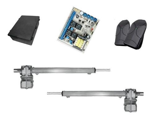 kit de automatizacion pistones largos pivus porton abatible