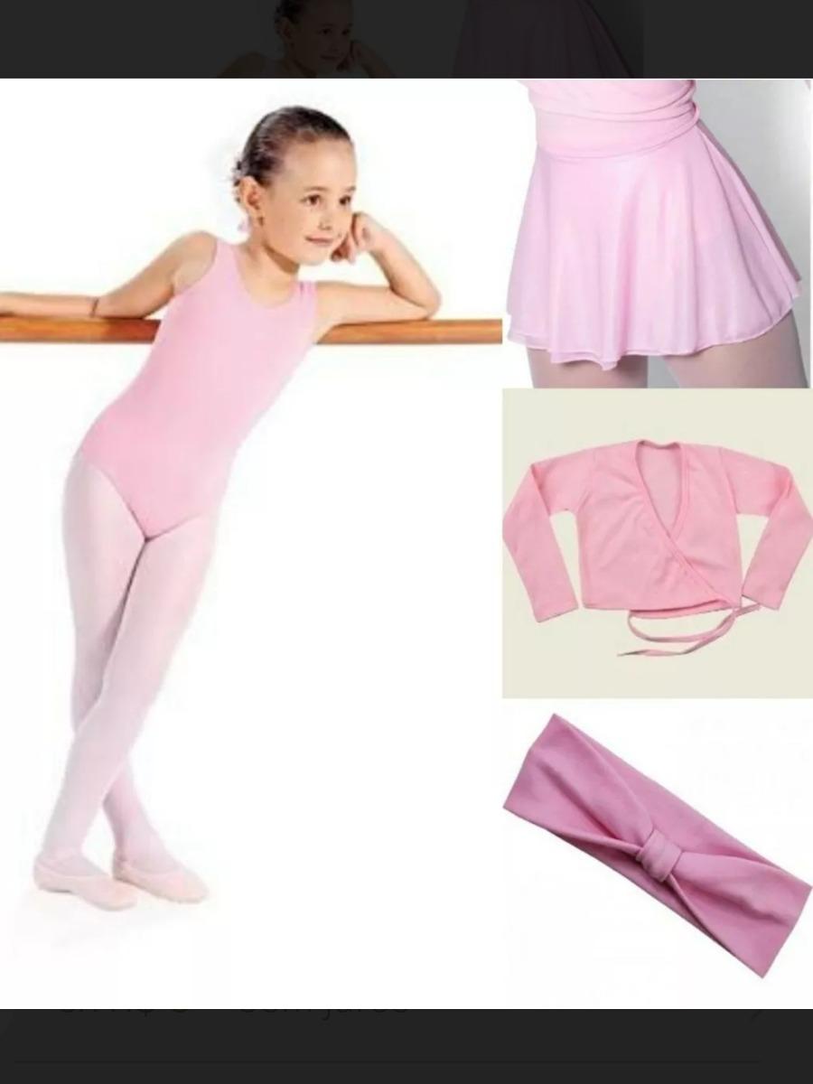 e37ab5bad8 kit de ballet collant regata body balé infantil. Carregando zoom.
