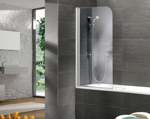kit de baño basico inodoro vanitory 50cm espejo mampara