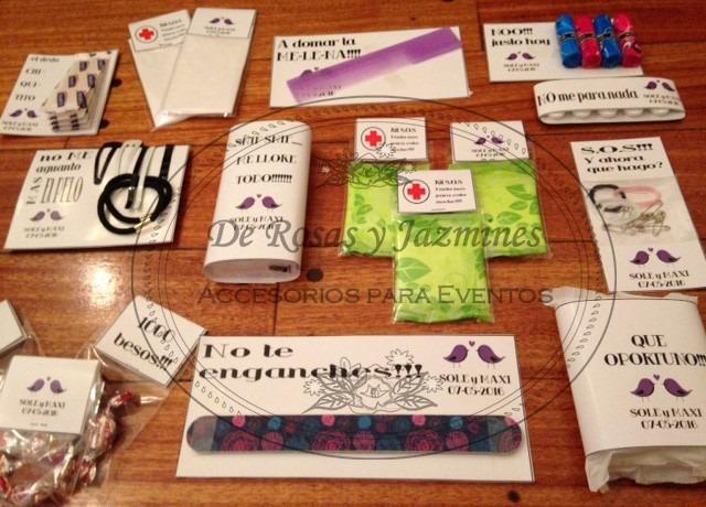 e36cea0b0 Kit De Baño, Kit De Emergencias Para Eventos, Bodas, 15 Años - $ 350 ...