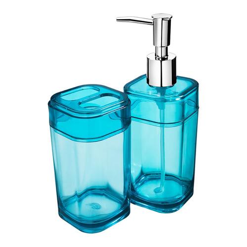 kit de baño splash verde