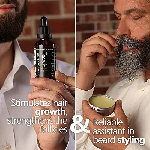 kit de barba cuidado para el cuidado de los hombres incluye