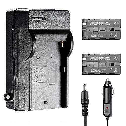 kit de batería y cargador li-ion neewer 2600mah para neewer