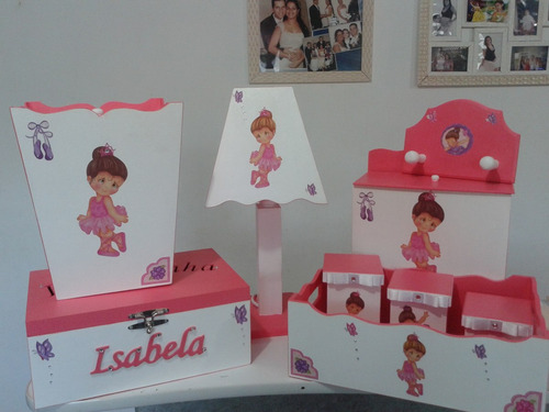 kit de bebe mdf decorados