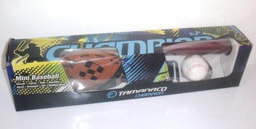 kit de beisbol tamanaco set inf 6-8