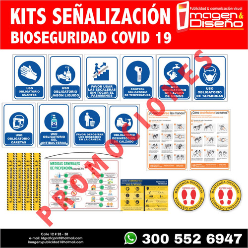 kit de bioseguridad