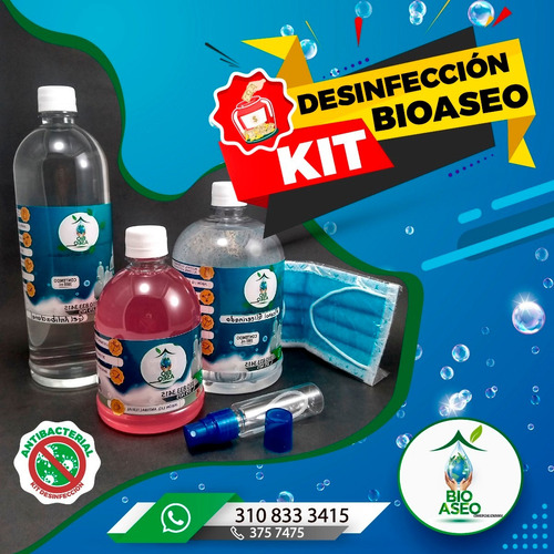 kit de bioseguridad domicilio gratis cali