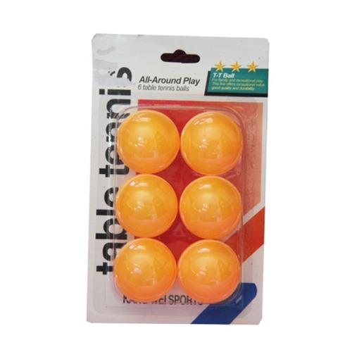 kit de bolinhas de ping pong com 6 unidades