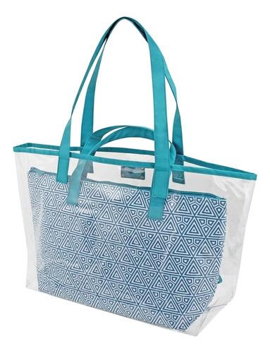 kit de bolsa 3 em 1 necessaire bolsinha praia jacki design