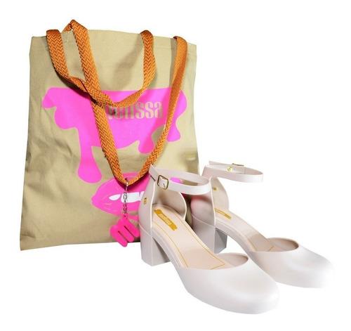 kit de bolsa e sandália várias cores
