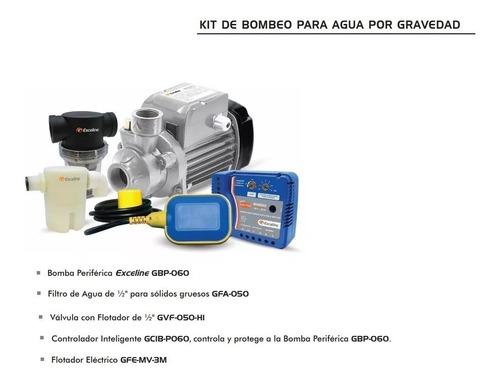 kit de bombeo para agua por gravedad exceline