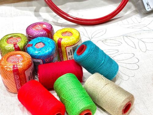kit de bordado chino y tradicional completo principiantes