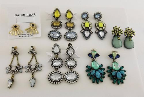 kit de brincos 50 peças lote atacado bijuteria frete gratis