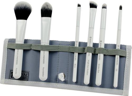 kit de brochas blanco total face royal brush - sally beauty