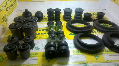 kit de buchas da suspensão diant. e tras.+ 4 pivot chevette