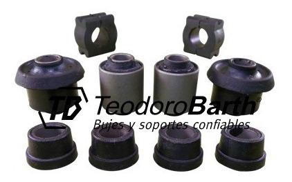 kit de bujes tren delantero x10 piezas - peugeot 505 p-up