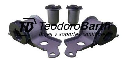 kit de bujes tren delantero x4 piezas - fiat palio d/m