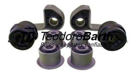 kit de bujes tren delantero x8 piezas tb 18mm - peugeot 306