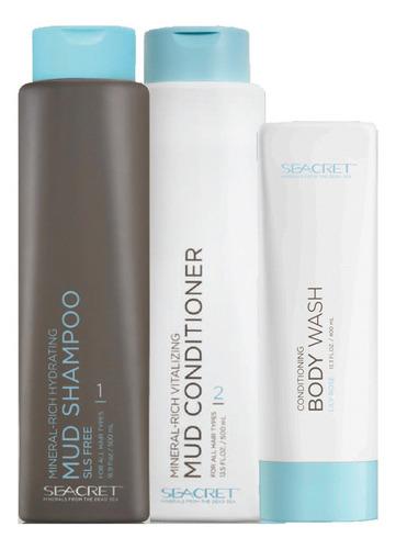 kit de cabello- tratamiento capilar seac - ml a $75