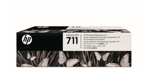 kit de cabezal de impresion hp 711plotter t120 t520 c1q10a