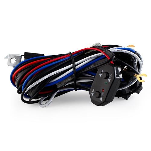 kit de cableado skp barras led faros led x3 altas y bajas
