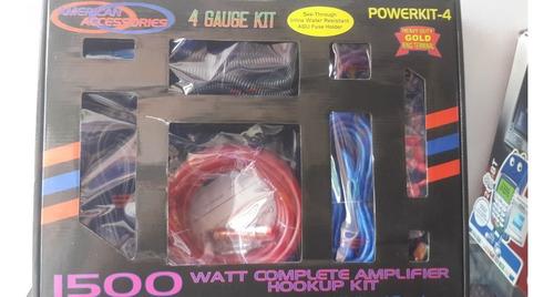kit de cables #8  american accessories a s/.59.99 soles