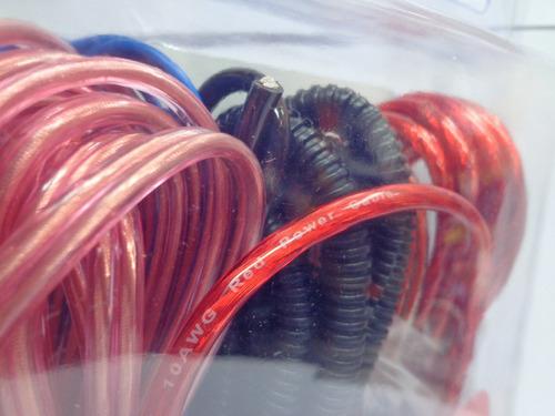 kit de cables para instalacion de potencia